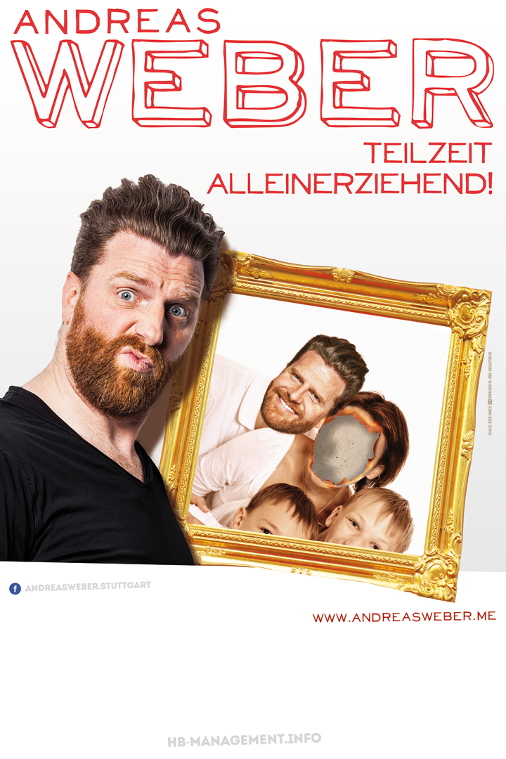 Andreas Weber: Teilzeitalleinerziehend!