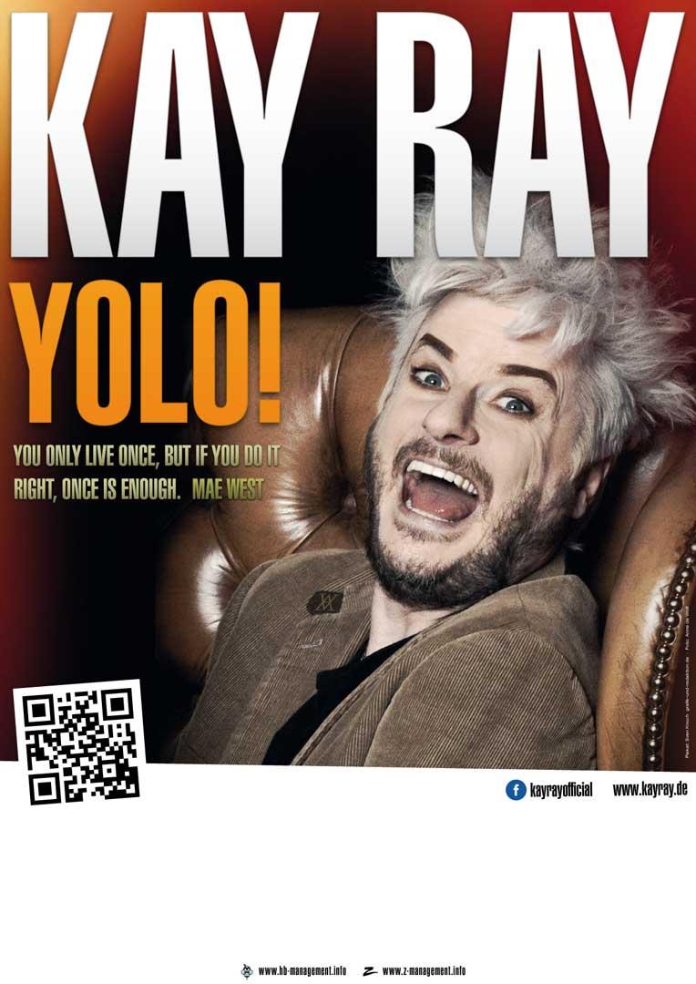 """Plakat Kay Ray """"YOLO!"""""""