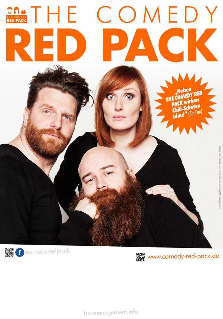 Plakat The Comedy Red Pack